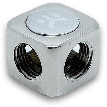 Productafbeelding voor 'EK-AF X-Splitter 4F G1/4 - Nickel'