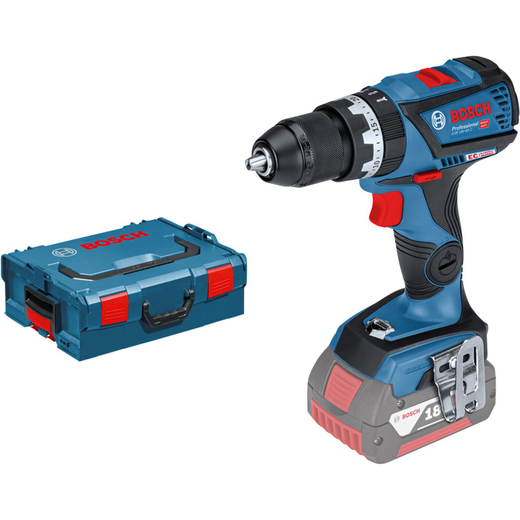 Bosch Accuklopboorschroevendraaier GSB 18V-60 C Professional In L-BOXX