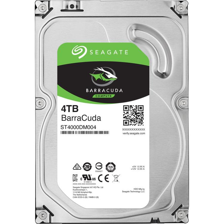 Seagate Barracuda ST4000DM004 4000GB SATA III interne harde schijf
