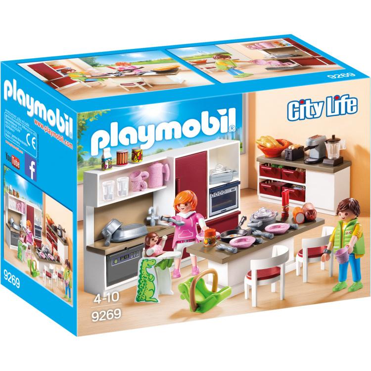 Playmobil City Life 9269 Jongen-meisje Multi kleuren set speelgoedfiguren kinderen
