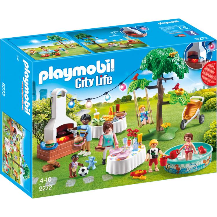 Playmobil City Life 9272 Jongen-meisje Multi kleuren set speelgoedfiguren kinderen