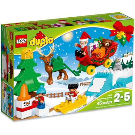DUPLO - Wintervakantie van de Kerstman