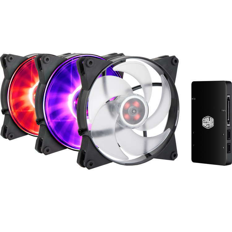 CoolerMaster MasterFan Pro 140 Air Pressure 3 In 1 RGB