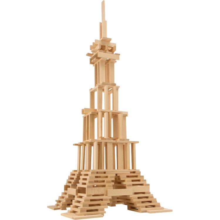 EICHHORN Box houten bouwstenen 200-delig