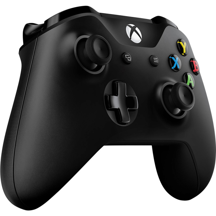 Microsoft Wireless Controller voor Xbox One (S) (zwart)