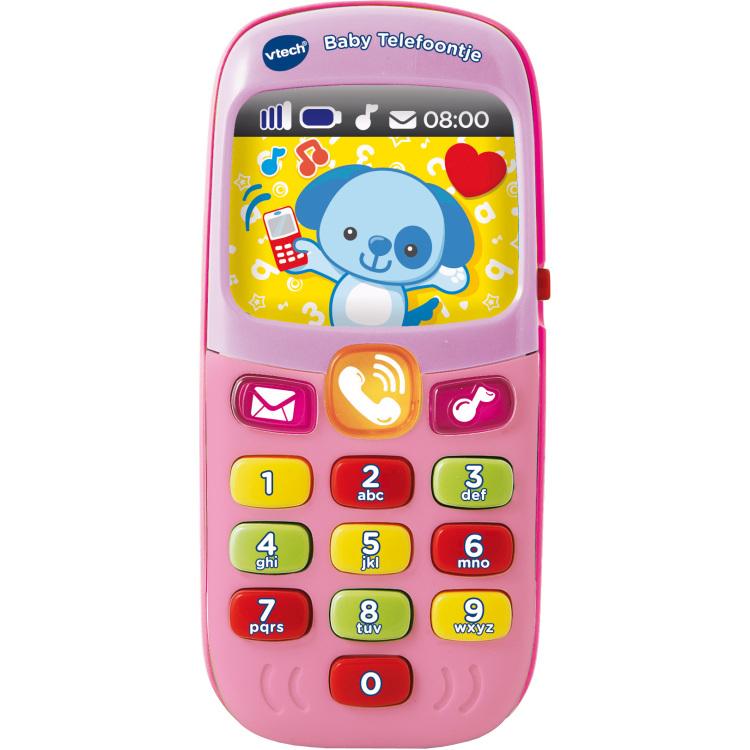 Baby Telefoontje roze
