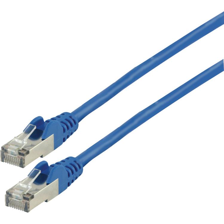 S-FTP CAT 6 netwerkkabel 15,0 m blauw