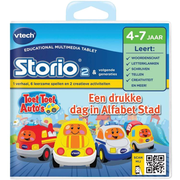 Storio 2 Toet Toet Autos Letters & Klanken
