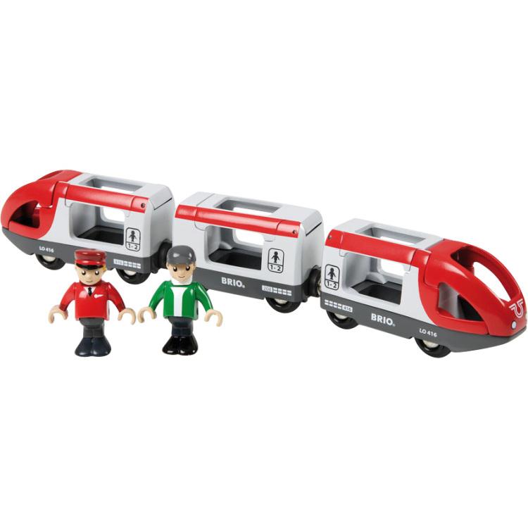 Brio passagiers trein