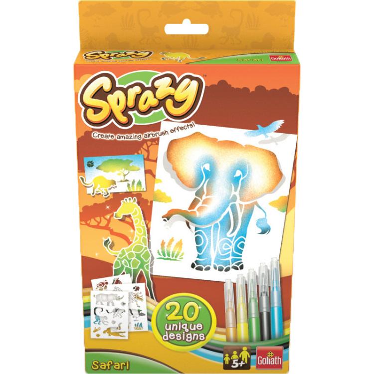 Goliath Sprazy airbrush uitbreidingsset Safari 9 delig