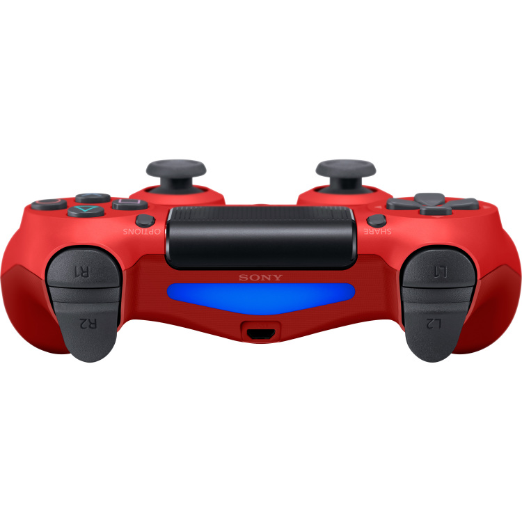 Sony Gamepad Playstation 4 Rood, Zwart