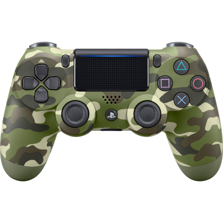 Sony Dual Shock 4 Controller (Green Camouflage)