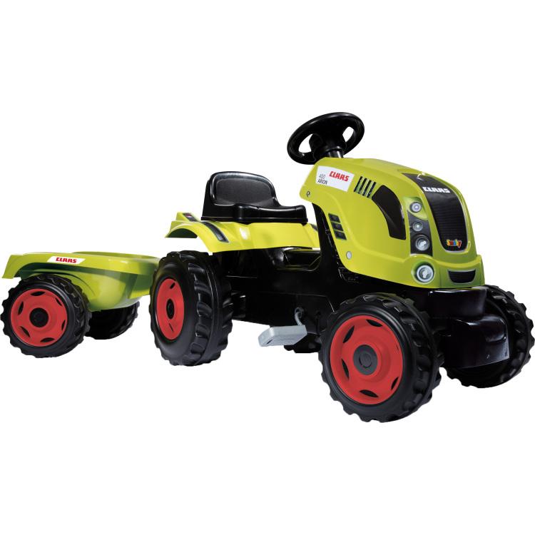 Claas Farmer XL tractor met trailer