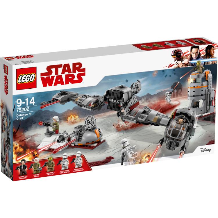 LEGO Star Wars - Verdediging van Crait 75202