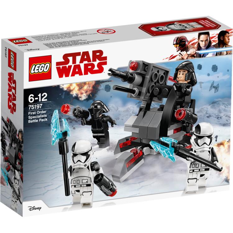 LEGO Star Wars - First Order specialisten Battle Pack 75197