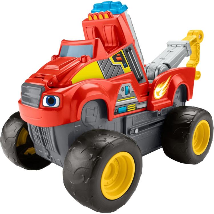 Blaze en de Monsterwielen - Kraanwagen Blaze