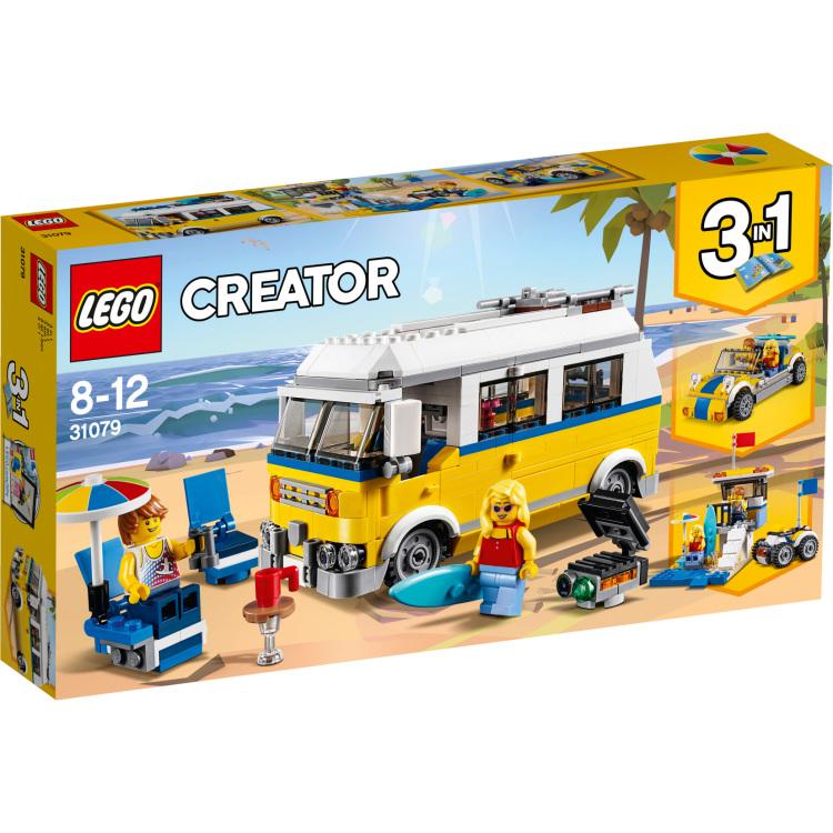 Creator 3 in 1 Zonnig surferbusje