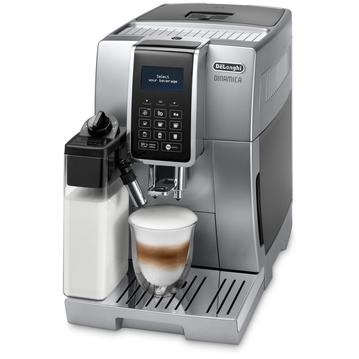 DELONGHI Duitsland volautomatisch koffiezetapparaat ECAM 350.75.SB, zilverkleur-zwart