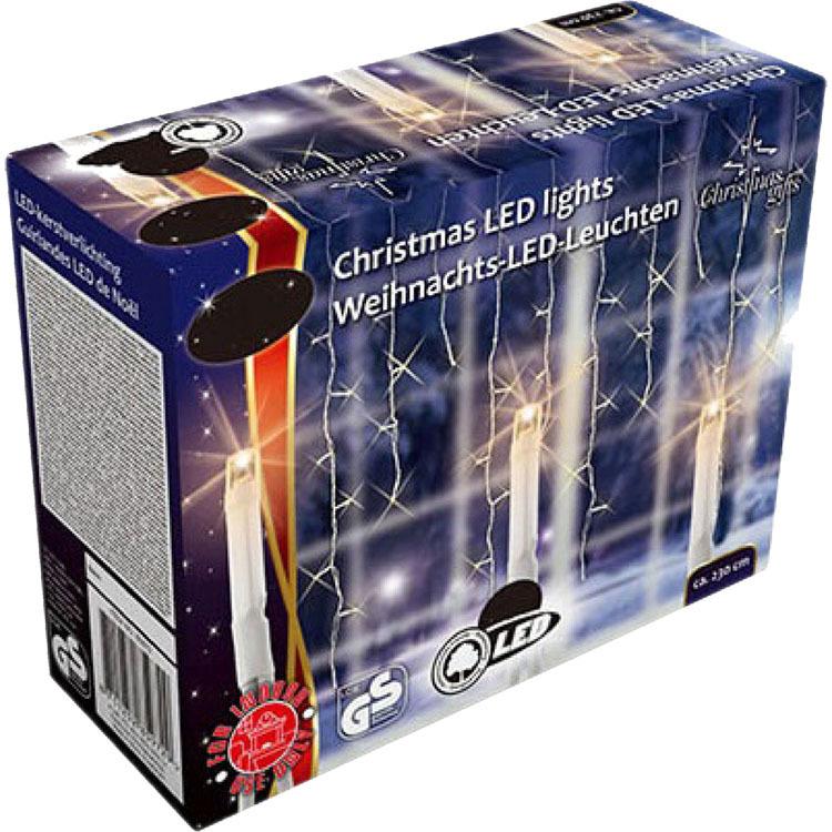 Diverse Kerstverlichting 160 LED Warm Wit 2,3m sfeerverlichting
