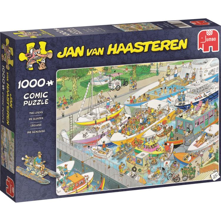 Jumbo Jan van Haasteren - De sluizen puzzel 1000 stukjes