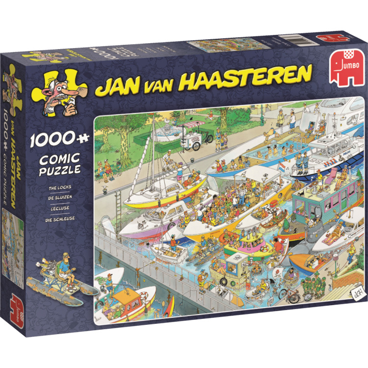 Jan van Haasteren The Locks 1000 pcs 1000stuk(s)