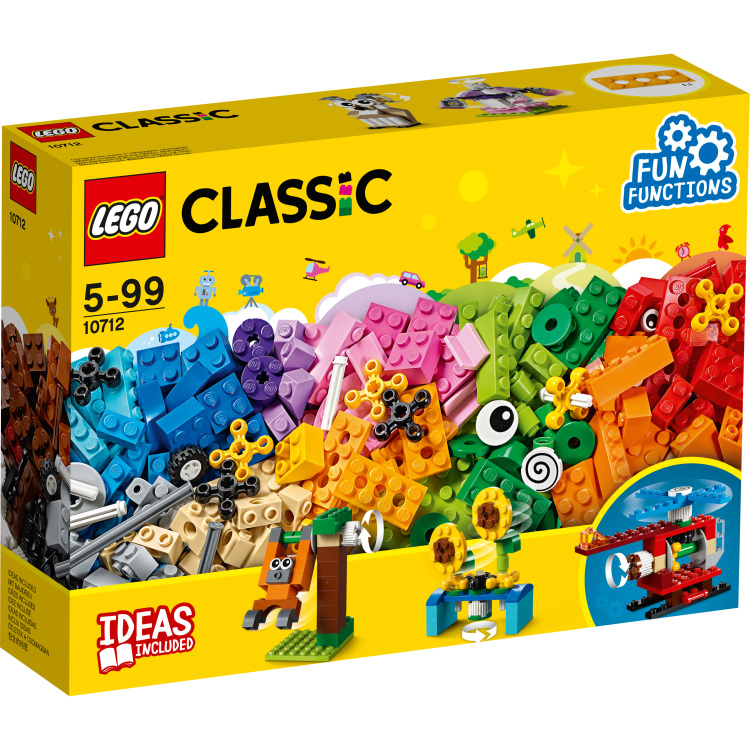 Lego 10712 Classic Steen&tand.