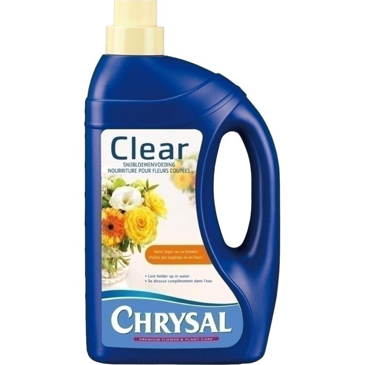 Chrysal Clear snijbloemenvoeding, 1 Liter kopen