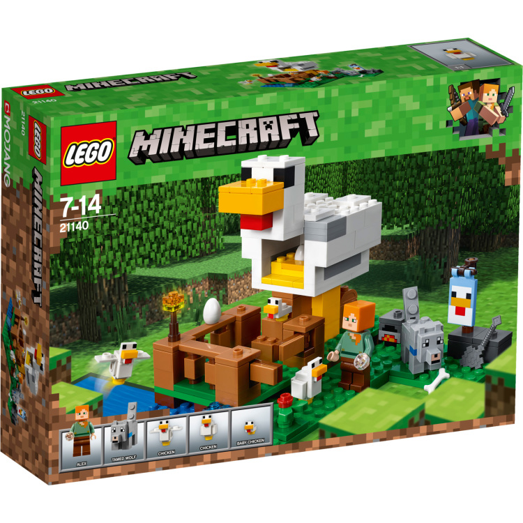 LEGO® Minecraft™ The Chicken Coop
