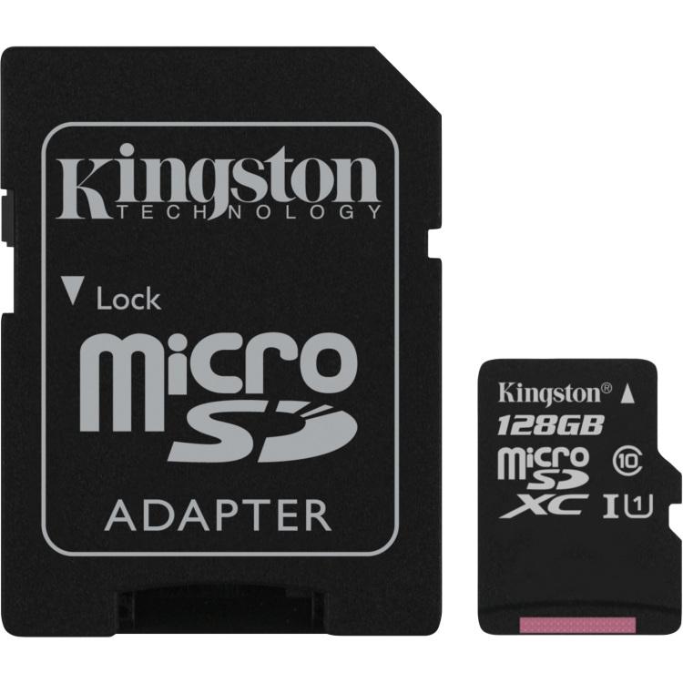 microSD 128GB Canvas Sel. SDHC UHS-I U1