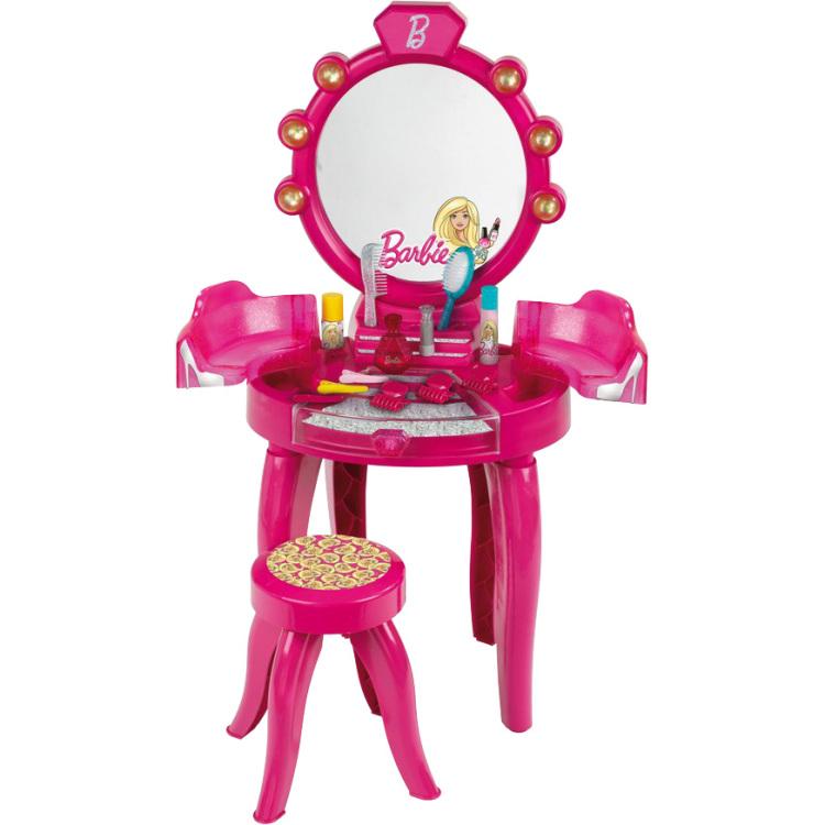 Barbie kaptafel met krukje