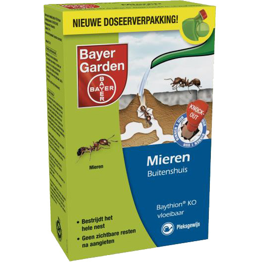 Baythion Knock-out Vloeibaar, 250 ml + Gieter