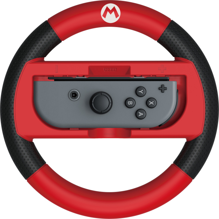 Mario Kart 8 Deluxe Racing Wheel (Mario) for Ninte