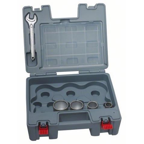 Diamantboorset droog 4-delig Bosch 2608587137 Diamant uitgerust 1 set