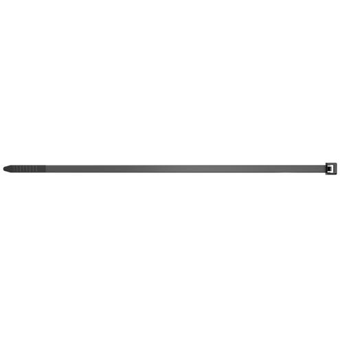 Kabelbinders UBN (l x b) 280 mm x 4.8 mm Kleur: Zwart 100 stuks Fischer