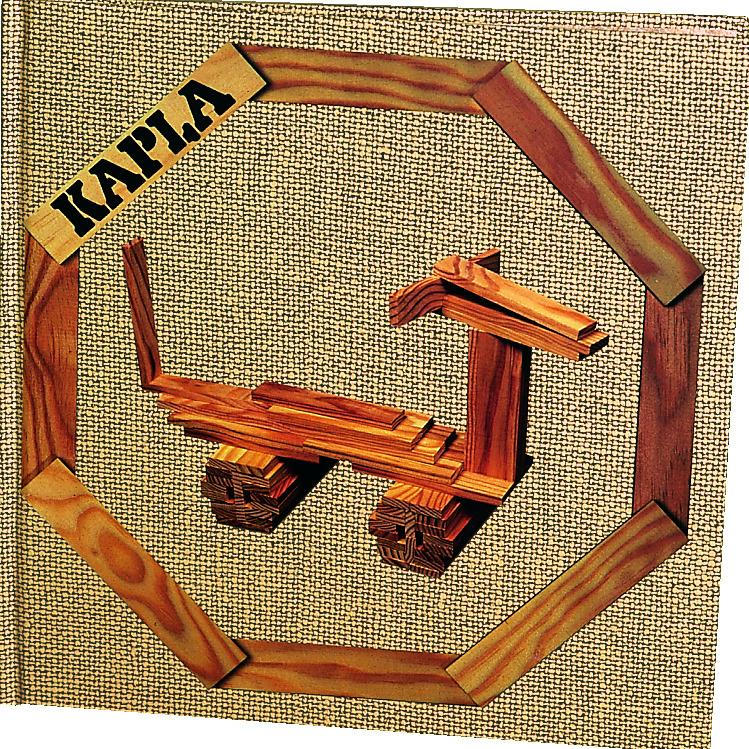 Kapla Boek Bruin Deel 4