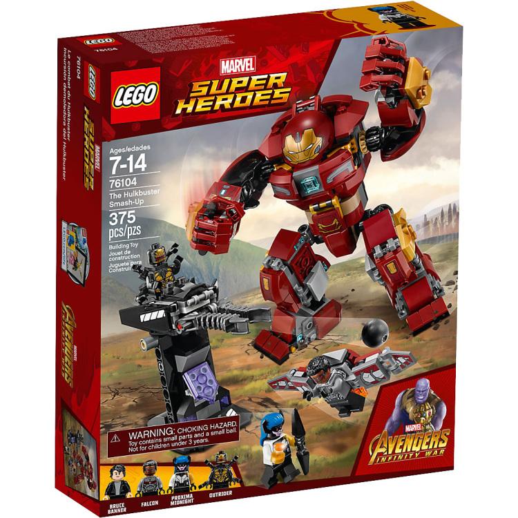 LEGO® Marvel Super Heroes Het Hulkbuster Duel 76104