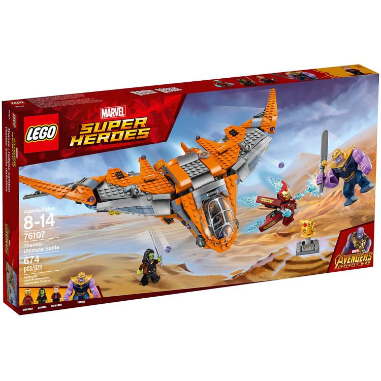 LEGO® Marvel Super Heroes Thanos: Het Ultieme Duel 76107