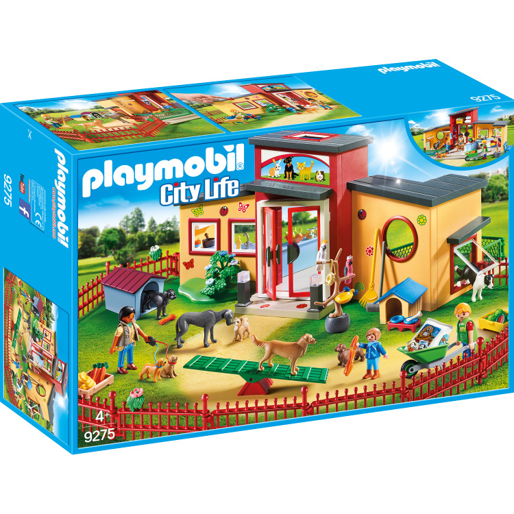 Playmobil City Life 9275 Jongen-meisje set speelgoedfiguren kinderen