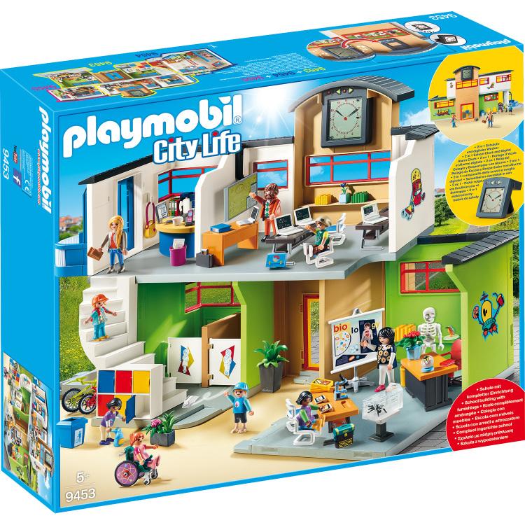 Alternate-PLAYMOBIL City Life - Ingerichte school 9453-aanbieding