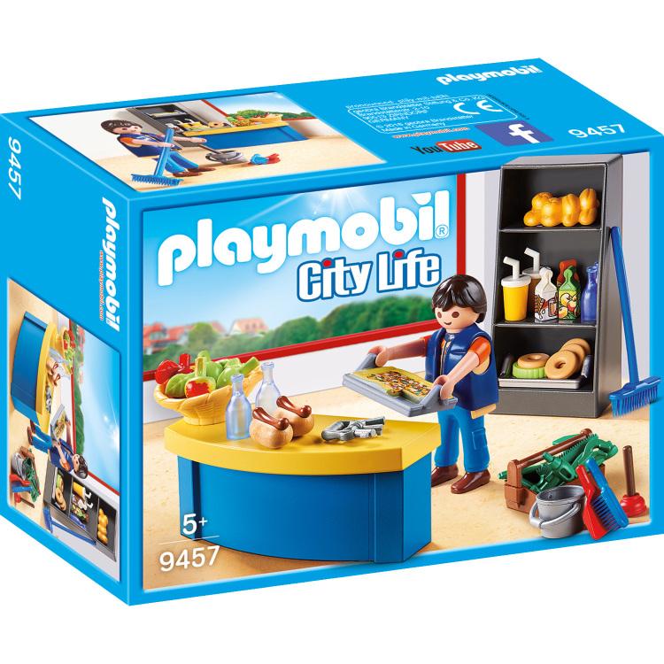 PLAYMOBIL City Life - Schoolconcierge met kiosk 9457