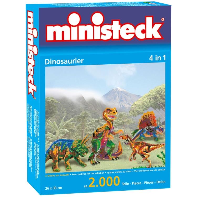 Dinosauriërs 4 in 1, ca. 2000 stukjes