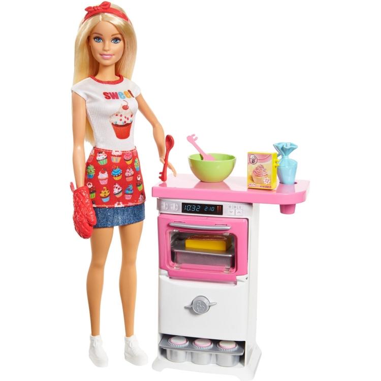 MATTEL Barbie Cupcake Bakkerij Speelset (5716851) online kopen