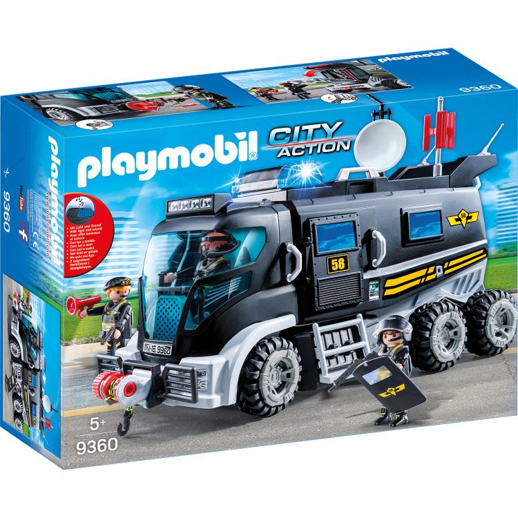 Playmobil City Action 9360 Jongen set speelgoedfiguren kinderen