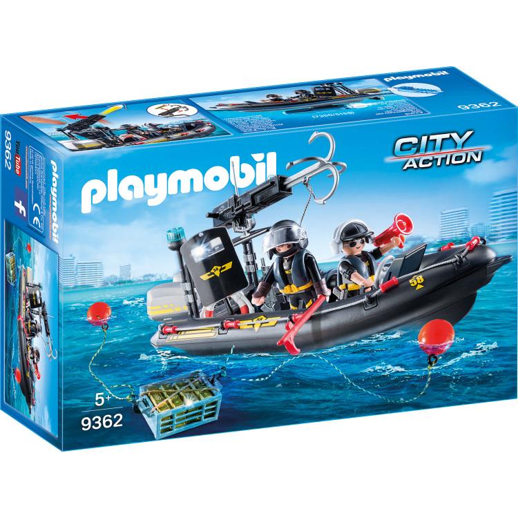 Playmobil City Action 9362 Jongen set speelgoedfiguren kinderen