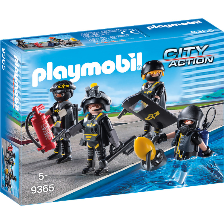Playmobil City Action 9365 Jongen set speelgoedfiguren kinderen