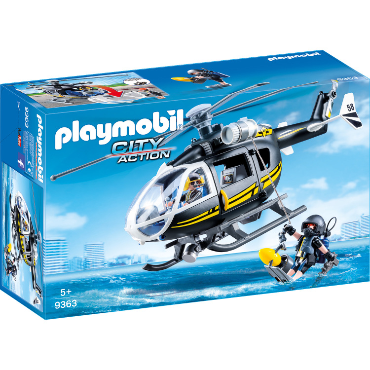 Playmobil City Action 9363 Jongen set speelgoedfiguren kinderen