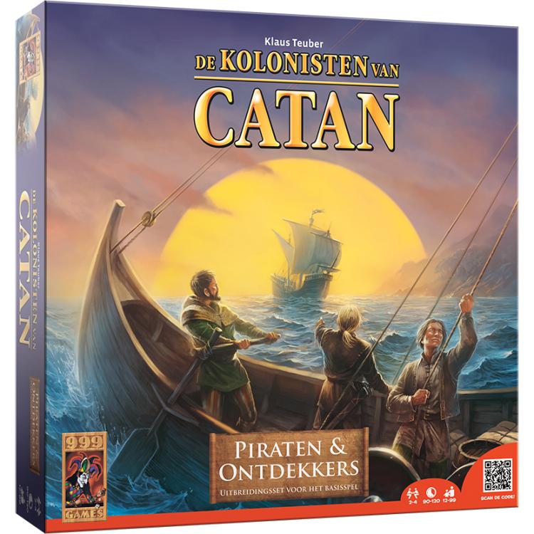 999 Games Kolonisten van Catan Piraten & Ontdekkers uitbreidingsset