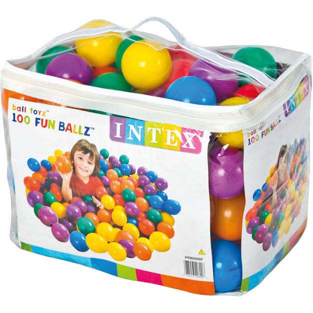 Intex ballenbakballen 6,5 cm 100 stuks