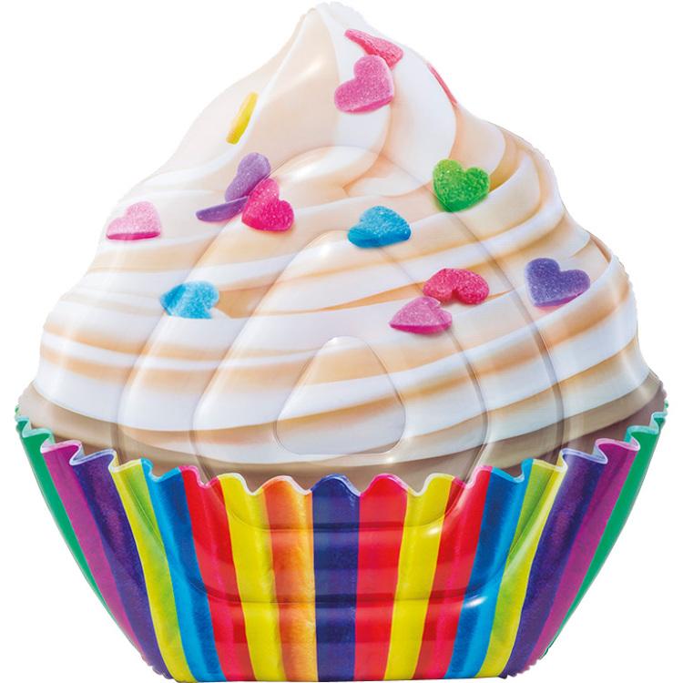 Opblaasbaar Luchtbed Cupcake 142 X135 Cm