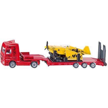 Siku Vrachtwagen met Sportvliegtuig